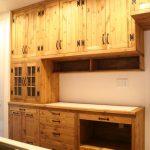 キッチン壁面収納(造り付け食器棚)