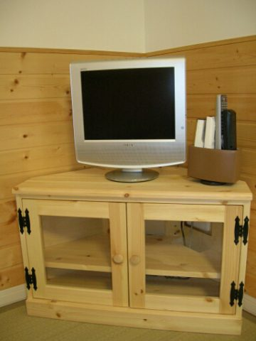 小型(ミニ)コーナーテレビ台