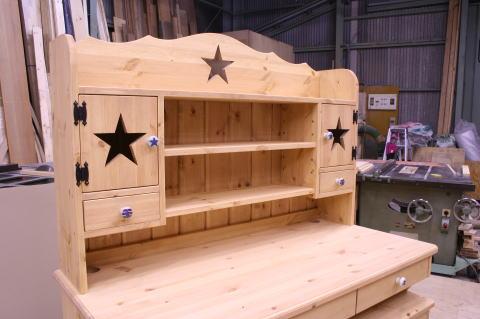 星の学習机用本棚